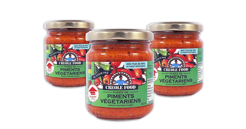Purée de Piment Végétarien